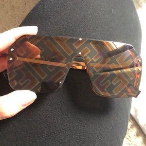 Faux fendi sunglasses